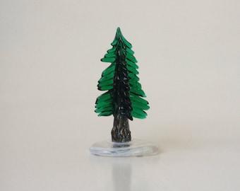 Glass Pine Tree