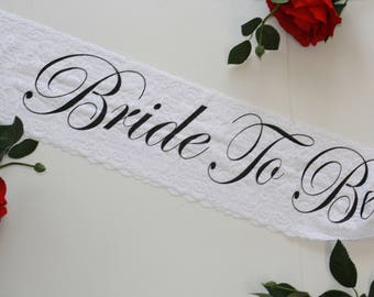 Bridal sash Wedding sash Bride To Be sash Bachelorette Bachelorette Gift Plus size Personalized Bridesmaid Gift Bridal Party Bride sash