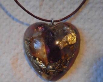 Orgonherz, radiation protection, heart pendant, mood, Valentine's Day