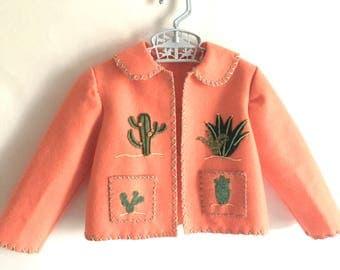 Matilda Jacket: Handmade embroidered mexican souvenir  jacket