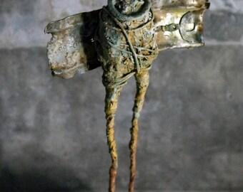 POMMY - Mixed media Sculpture