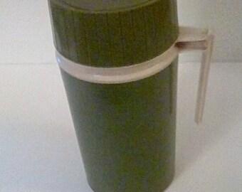 Vintage Avacado Thermos