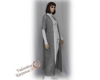 Women's cardigan Cardigan Long cardigan  Pointelle cardigan Knitted cardigan Buy cardigan Soft cardigan Cardigan handmade  Womens cardigan