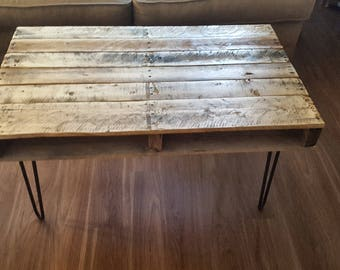Rustic Coca Cola Pallet Wood Coffee Table