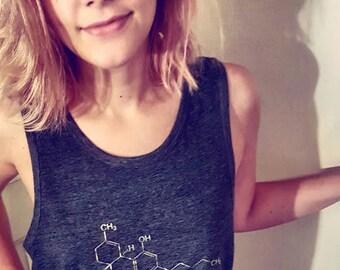 THC Molecule Tank