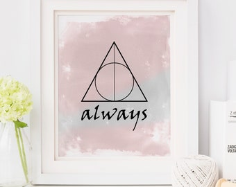 Harry Potter Baby, Harry Potter Always, Deathly Hallows, After All This Time Always, Harry Potter Gift, Harry Potter, Severus Snape, Potter