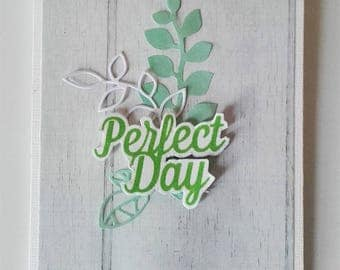 "Carte ""Perfect day"""