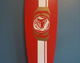 Red Ranger Longboard