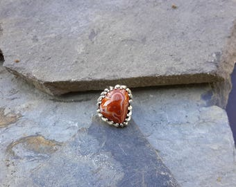 No.150 My Favorite Lake Superior Agate Stone that is now a Womens Ring