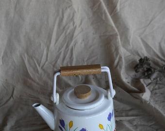 Vintage Floral Japanese Tea Pot