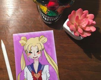 don't be sad Sailor Moon