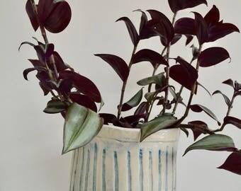 Ceramic Planter, Plant Pot, Plant lovers gift