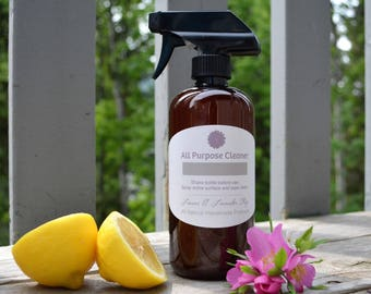 All Natural All Purpose Cleaner, Cleaning spray 16 oz.