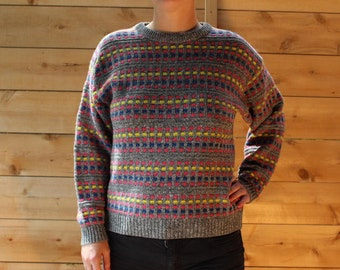 90's square sweater