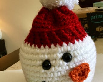 Snowman Sack with drawstring