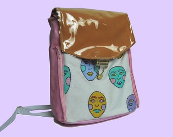 Surreality Hand Painted Backpack