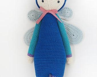 handmade doll, present,made to order, fly, pattern, bug stuffed doll, present, bug plush doll, amigurumi, crochet bug doll, kids gift, child