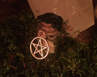 Witchbottle Witch bottle Gold Dragon Treasures Magic Wicca Pagan Occult Talisman Mojo Witch bottle