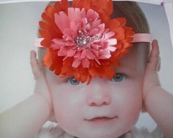 Nylon Headband. Baby Bow. baby headband. newborn headband. infant headband. bow nylon headband. headband. nylon. felt headband. bow felt set