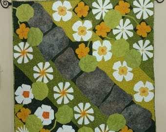 Quilted Garden Wall Hanging