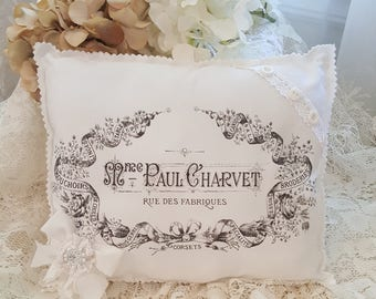 French Accent Pillow - Paul Charvet