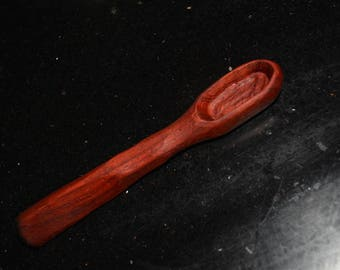 Hand Carved Bloodwood Spoon