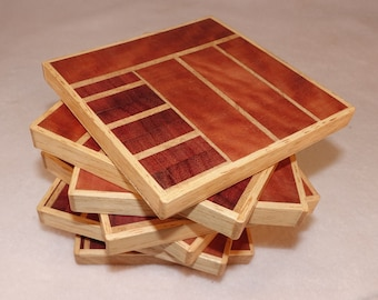 Australian Timber drink coasters