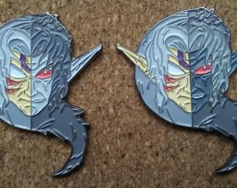 legend of zelda fierce deity dark link pin set
