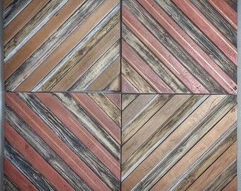 Reclaimed Wood Decorative Wall Panel