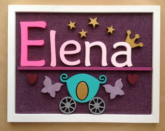 Nursery name sign, Nursery letters, Nursery wall decor, wooden name sign, nursery name letters, nursery wall art, baby name sign, name sign