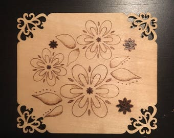 Flower Placard