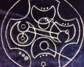 Gallifreyan Drawstring bag