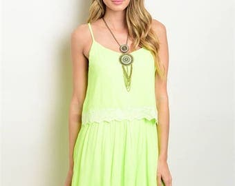 Electric Lime Dress