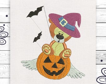 Kids Halloween embroidery Machine embroidery design 3 sizes INSTANT DOWNLOAD EE5134