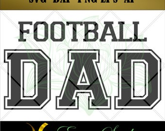 Football Dad svg, Clipart svg, Football for Cricut, Design Studio, Football svg Files for Cricut, Cutting Files,svg files,Silhouette svg,