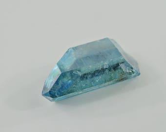 Aqua Aura Quartz Aqua aura Quartz Crystal Point Arkansas *  B017