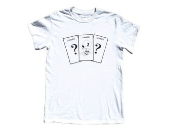 Chance the Rapper on Chance Monopoly Card T-Shirt