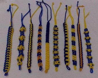 """Hand-Tatted Bracelet """"Too Unique"""" Macramé-Style – 10 pcs"""