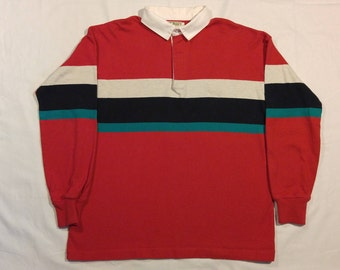 Vintage L.L. Bean Rugby Polo