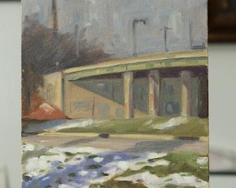 Overpass in Winter