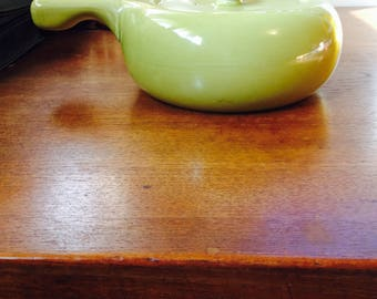 Russel Wright chartreuse tureen, Russel Wright casserole, chartreuse Russel Wright covered pot