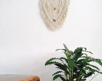 Macrame Wandhanger / Macrame Wall Hanging / Modern Macrame / Macrame Tapestry / Macrame