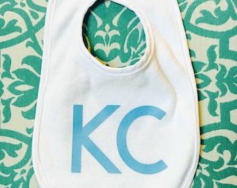 Kansas city baby etsy kansas city bib kansas city baby gift royals baby gift kc bib negle Choice Image