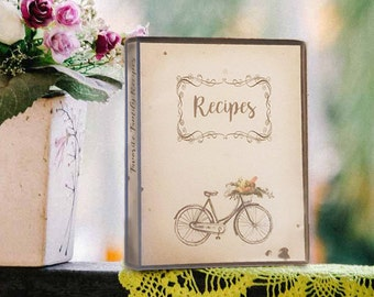 Recipe Album, Recipe Keepers, Gift for Foodies, Cook's Gift, Kitchen Gift, Food Lover Gift, Recipe Organizer, Menu Planning, Gourmet Friend