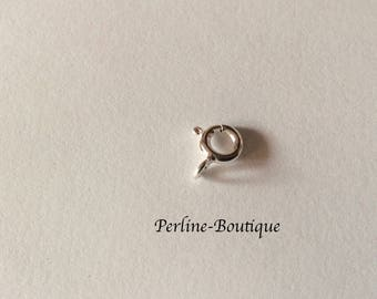 6mm 925 Sterling Silver Spring clasp