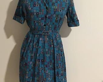 Volop Size L 1950s Shirtwaist Dress