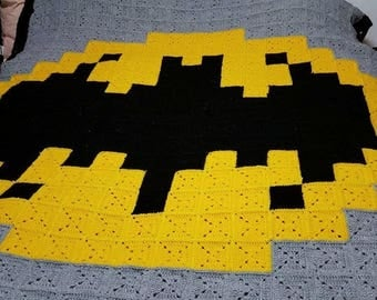 Batman themed blanket