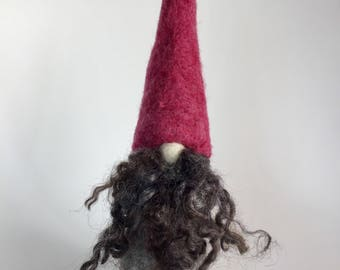 Gnome, Tomte, Needle Felted, Wool, Christmas, Home Decoration