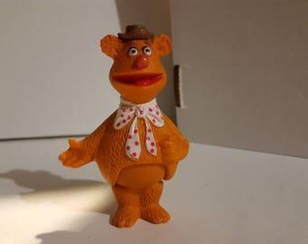 Vintage Fozzie Bear figure