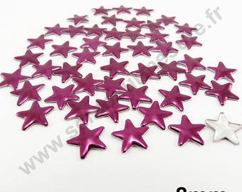 Star Thermo - EGGPLANT - 8mm - x 75pcs